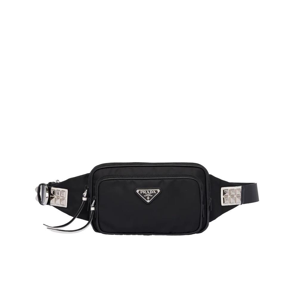 Prada Nylon Belt Bag Vintage Waist Bag Women Leather Belt Bag Waist Pack Travel Belt Wallets Bags 1BL010_2BYB_F0967_V_TOO