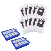 Hepa Filter S Tasche Kits für Philips Electrolux Fc8220 Fc8031 Staubsauger Teile-in Staubsauger-Teile aus Haushaltsgeräte bei