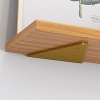 2 pezzi triangolo staffa supporto mensole a parete angolo retto cuscinetto fisso scaffale tavolo da pranzo scaffale libreria fai da te decorazione della casa Hardware