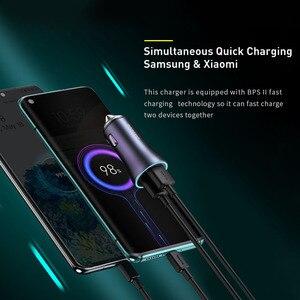 Image 4 - Baseus PD 20W USB Car Charger Quick Charge QC 4.0 3.0 Dual USB C Quick Charge Fast Charger For iPhone 12 Pro Max Xiaomi Huawei