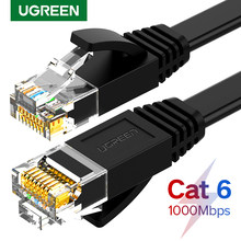 Ugreen Ethernet Kabel Cat6 Lan Kabel Utp Cat 6 Rj 45 Netwerk Kabel 10 M/50 M/100 M Patch Cord Voor Laptop Router RJ45 Netwerk Kabel(China)