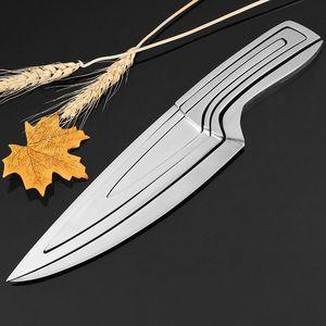 Image 3 - XITUO mutfak bıçağı 4 adet set çok pişirme aracı paslanmaz çelik dayanıklı şef bıçağı yemek ve Bar benzersiz özel tasarım bıçak seti