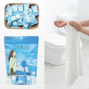 Disposable Towel Compressed-Towel One-Time Face-Care Travel Cotton 50pcs Outdoor