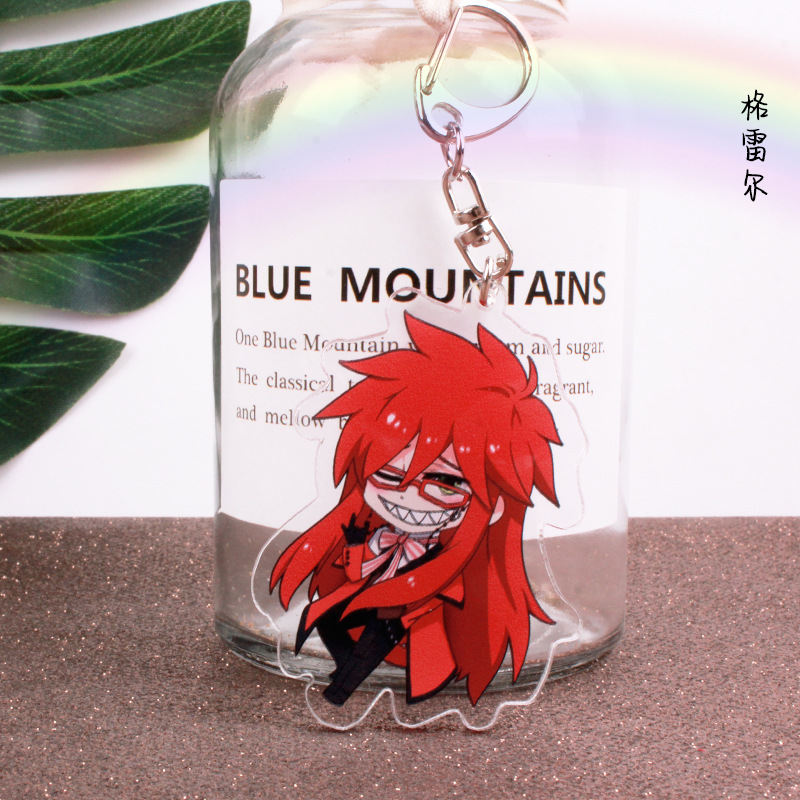 Kuroshitsuji Anime Peripheral Bag Keychain Pendant Lssed Lldty#gcul