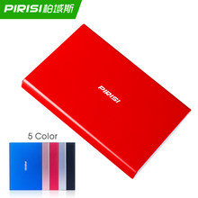 PIRISI – Disque dur externe Portable, usb 3.0, avec capacité de 2 to, 1 to, 500 go, 320 go, 250 go, 160 go, pour PC et Mac