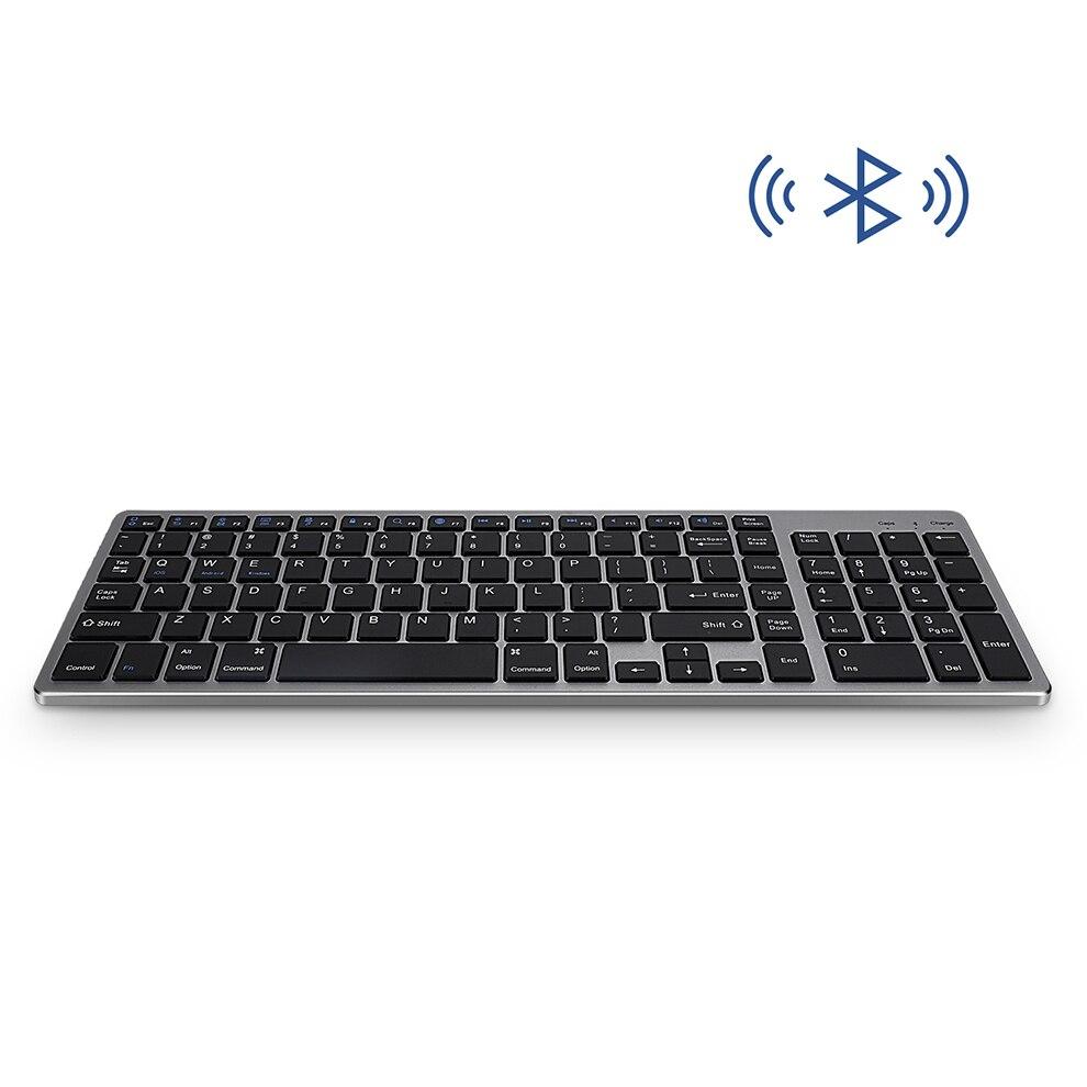 portátil smartphone recarregável teclado sem fio portátil com almofada número