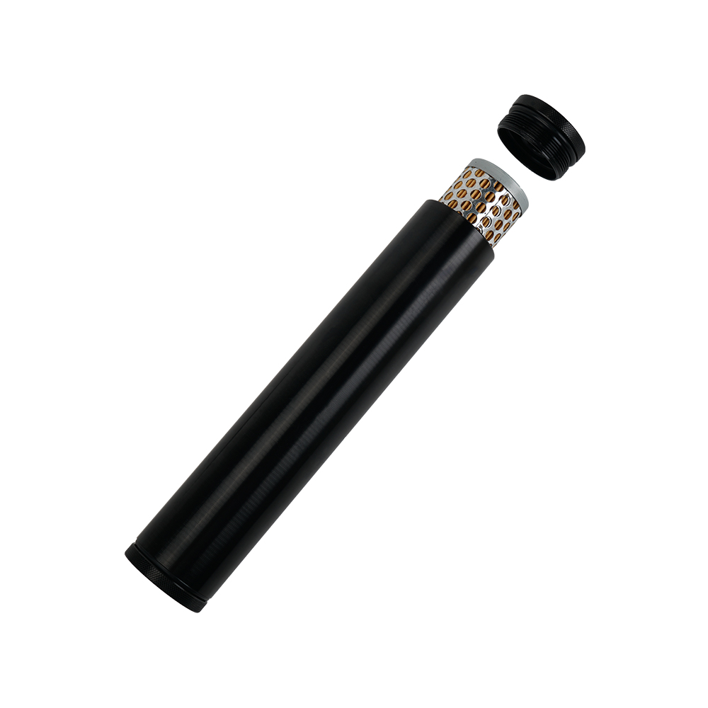 Турбо воздушный топливный фильтр Заготовка алюминий низкий профиль 1/2-28 для 4003 24003 черный