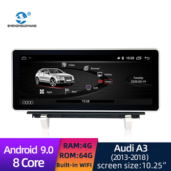 Car Smart System Android 9.0 4G+64G Multimedia DVD GPS player For Audi A3 2013-2018 image