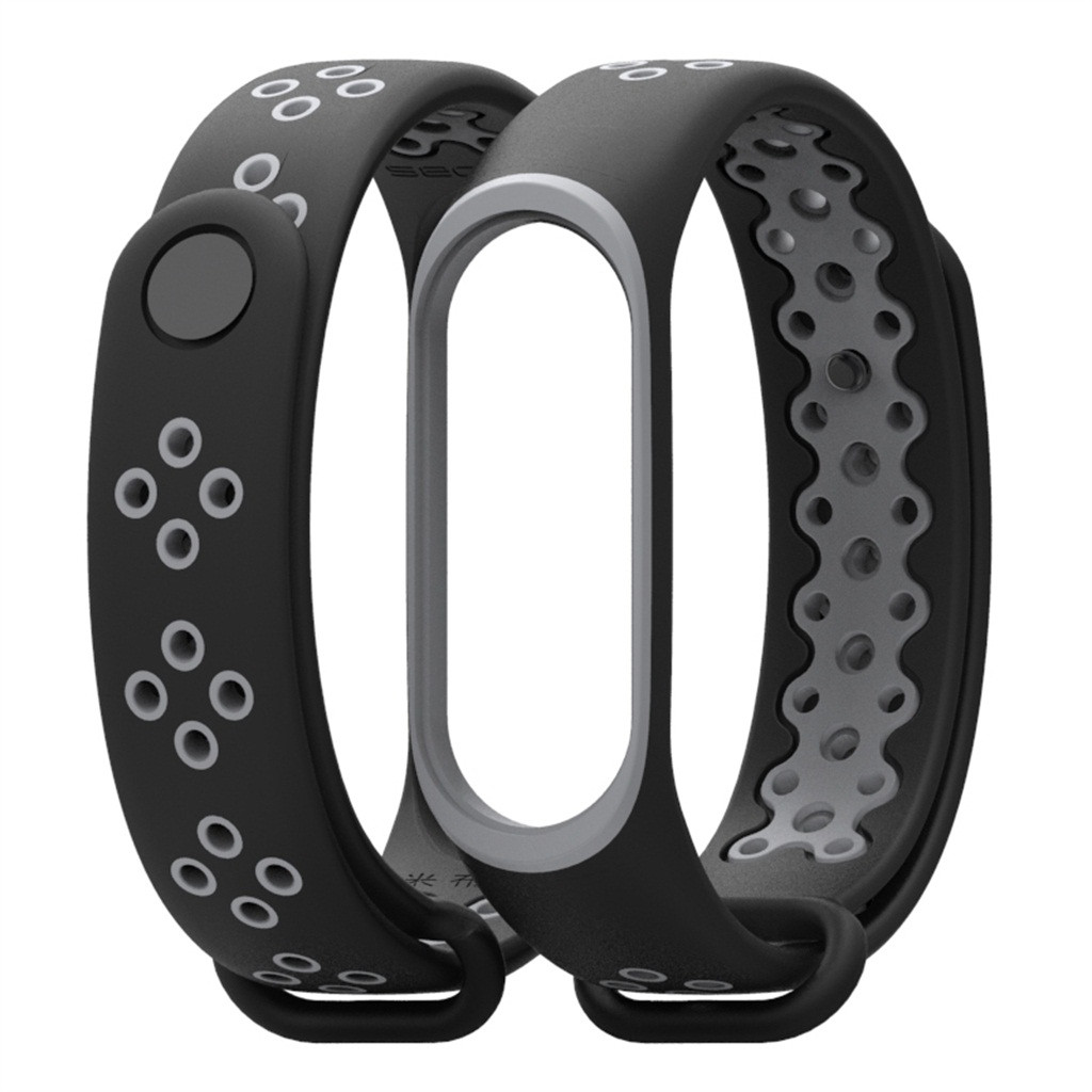 HIPERDEAL 2020 Suitable For XIAOMI MI Band 4 Durable And Non-fading New Silicone Soft Wrist Strap Wristband Replacement New