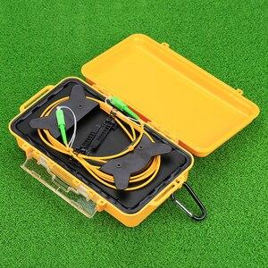 Image 3 - KELUSHI OTDR Dead Zone Eliminator Fiber Optic OTDR Launch Cable Box 1km SM  SIngle Mode 9/125 SC  APC Connectors 1310/1550nm