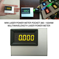 PINTUDY 0-10W Mini Laser Power Meter Pocket 390 ~ 1024nm Multiwavelength Laser Power Meter Elektrische Instrumenten 2019 nieuwe