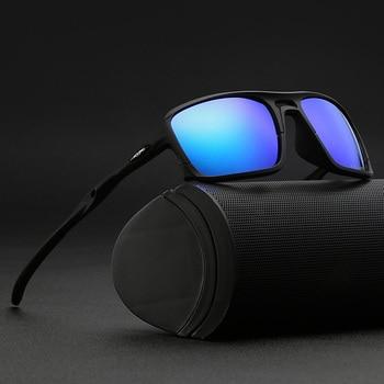 Men's Sports Square Sunglasses
