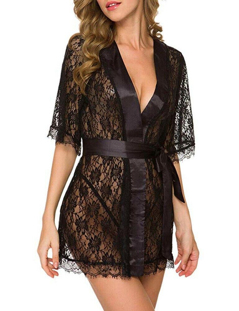 Nuisette Robe de nuit Sexy de Lingerie