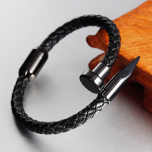2019 Sale Viking Bracelet Armbanden Voor Vrouwen States Strap Stainless Steel Accessories Hand-woven Couples Jewelry
