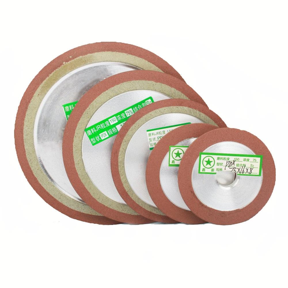 75/80/100/125/150mm 150Grit  Damond Grinding Wheel Cutting Disc Resin Bond Grinder Steel Milling Cutter Sharpener 1Pc