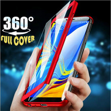 360 Degree Full Cover Phone Case For Xiaomi Redmi Note 8 7 5