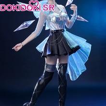 PRE-SALE dokidoki-sr jogo liga de lendas cosplay tudo mais kda seraphine lol liga de lendas k/da