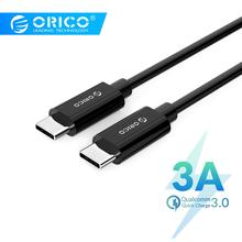 Orico USB Type C to Cable for Huawei Mate 20 Samsung Galaxy S9 QC3.0 3A Quick Charge Fast Charger MacBook Pro