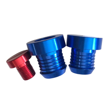 Aluminum EGR Valve Blanking Plugs Cooler& Thermostat Bungs Removal Kit Fit for BMW 1 3 5 7 Series