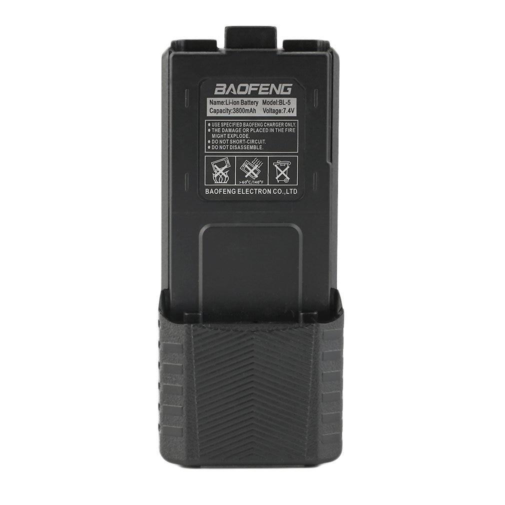 3800mAh 7.4V Extended Li-Ion Extended Long Battery For Baofeng UV-5R UV-5R-L BF-F8/8+ BF-F9 Two Way Radio