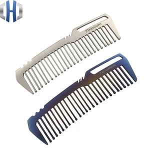 Image 5 - Titanium Comb For Men And Women Comb Hair Cutting Comb EDC