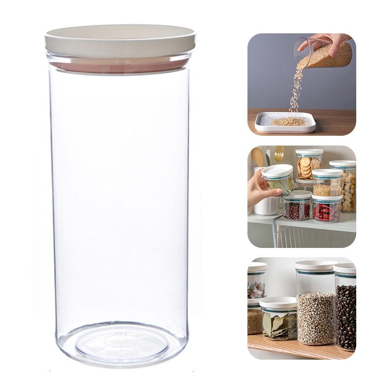 Купить кухня герметичный зерна фасоли контейнер для специй прозрачный