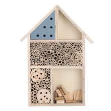 Boîte à insectes en bois de haute qualité, niche en bois, abri d'hôtel, décoration de jardin, nids, boîte à insectes