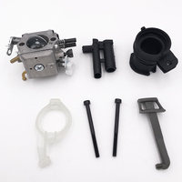 High Quality Carburetor Intake Kit For Husqvarna 365 362 372 371 372XP Walbro Carb HD 12 HD 6