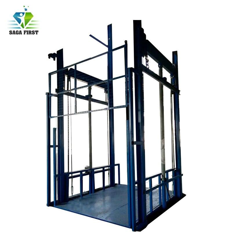 Electric Hydraulic Platform Vertical Cargo Elevator