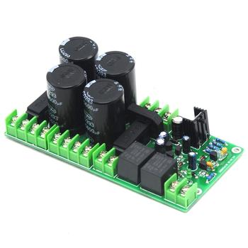 Amplifier Rectifier Filter Power Supply Board 63V 6800uf w/Speaker Protection LED Indicate diy pcb board for 62pcs capacitor array power supply rectifier board
