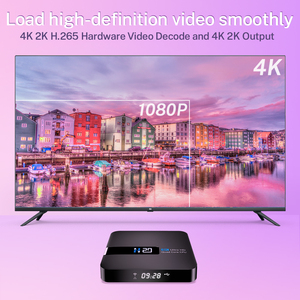 Image 5 - Android 10.0 TV BOX RK3229 4K Youtube Google Assistant 2G 16G Set Top Box 3D H.265 2.4G Wifi media player TV Receiver play store