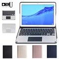 Чехол с клавиатурой Bluetooth для huawei Mediapad T5 10 2018 AGS2-L09/W09/L03 тачпад Клавиатура для huawei T5 10 1 ''планшет с подставкой