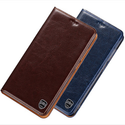 На Алиэкспресс купить чехол для смартфона genuine leather flip cover with kickstand case for oneplus 7t pro/oneplus 7t/oneplus 7 pro/oneplus 7 phone case card holder flip