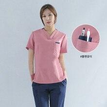 Nurse uniform two-piece set 2019 new maternity center work split suit can be customized long-sleeved nurse