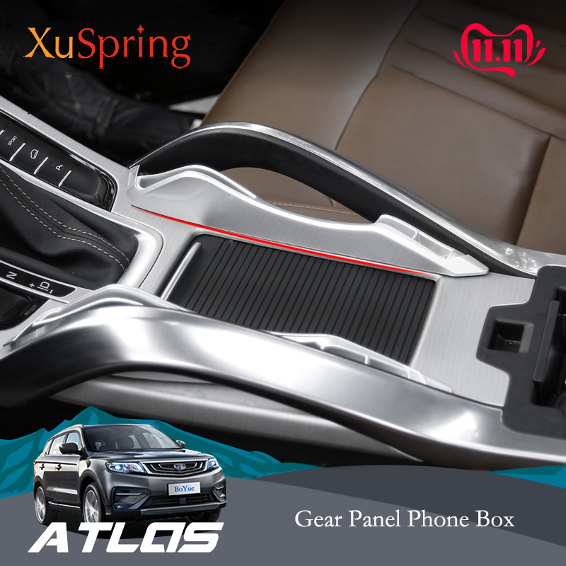 For Geely Atlas Emgrand Boyue NL-3 Proton X70 2016-2019 Car Console Armrest Storage Box Container Glove Organizer Case