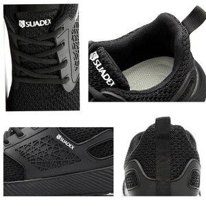 Image 3 - SUADEEX Unisexผู้ชายผู้หญิงรองเท้าเพื่อความปลอดภัยSteel Toeหลักฐานเจาะรองเท้าทำงานกลางแจ้งน้ำหนักเบาBreathableการก่อสร้างรองเท้าผู้ชาย