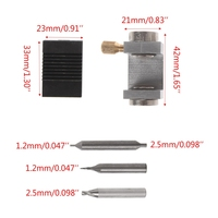 Key Clamping Fixture Duplicating Cutting Machine For Car Key Copy Tool Universal|Locksmith Supplies| |  -