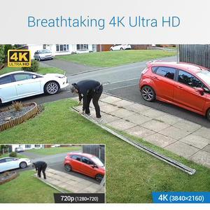 Image 2 - Annke 4 18k 8CH hd ウルトラクリア映像 cctv セキュリティシステム 5in1 H.265 dvr 4X または 8X 8MP 屋外全天候ホームビデオキット