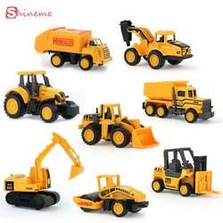 Мода мальчик игрушечные лошадки машинки мини строительство автомобиля инженерные экскаватор для машинки самосвалы multi стиль Дети для