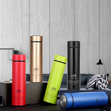 Business Double Wall Stainless Steel Vacuum Flasks 500ml Thermos Cup Coffee Tea Milk Travel Mug Thermo Bottle Gifts Thermocup 500ml stainless steel double wall insulated thermos cup vacuum flasks water bottle thermo coffee mug quality travel