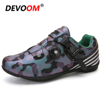 New Outdoor Road Bike Cycling Shoes Ultralight Anti-skid Wear resistant profession Self-Locking Shoes Unisex Sport Bicycle Shoes