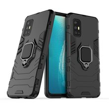 "Shockproof Armor Case For vivo V17 V19 Neo V19 Indonesia 6.44"" Hybrid Hard PC+Soft TPU Rotating Ring Stand Holder Cover(China)"