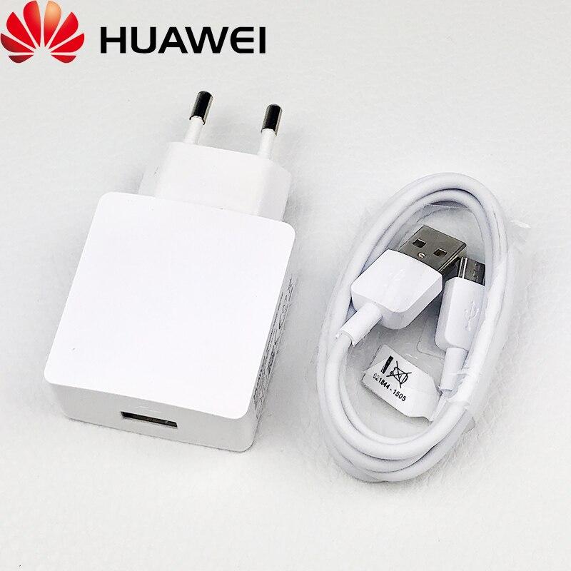 Huawei Original Honor 8x cargador 5v2A adaptador de corriente de carga rápida cable micro usb para P8 9 10 lite mate 10 lite y6 P smart z 2019 Versión mundial Realme Pro X2 X2 8 GB 128 GB del teléfono móvil Snapdragon 855 Plus 64MP cámara Quad NFC teléfono móvil de 50W Cargador Rápido