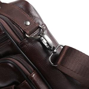 Image 4 - ZZNICK 2020 Genuine Cowhide Leather Shoulder Bag Small Messenger Bags Men Travel New Fashion Men Bag Flap Crossbody Bag Handbags