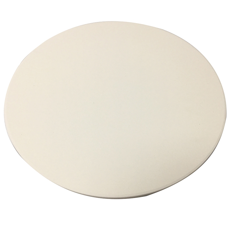 ELOS-13 Inch Pizza Stone for Cooking Baking Grilling Extra Thick Pizza Tools for Oven and Bbq Grill Bakeware Bread Tray Kitchen
