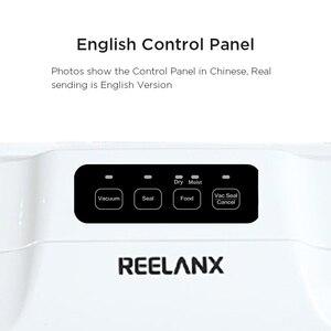 Image 5 - REELANX 진공 실러 V1 140W 자동 진공 포장 기계 15pcs 가방 음식에 대 한 최고의 진공 포장기 씰링 포장