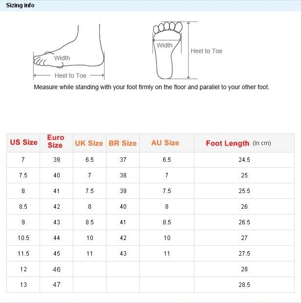 aliexpress men shoes size