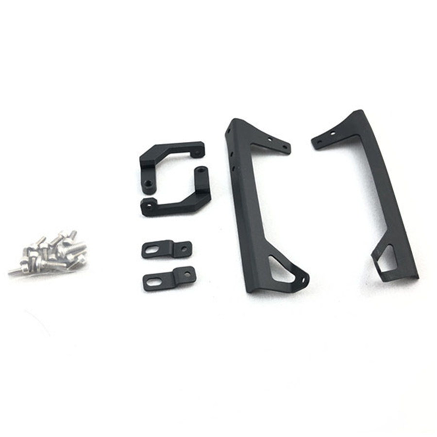 <font><b>Rc</b></font> Crawler <font><b>Car</b></font> <font><b>Body</b></font> Roof Spotlights Metal Backet With Tail Light Stand Mount Kits For <font><b>1</b></font>/<font><b>8</b></font> Scale CAPO JKMAX Toy Truck Parts image