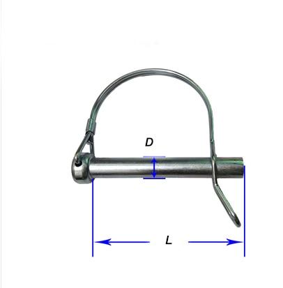 PEREL 8 x 130 mm Diameter Stainless Steel Eye Bolt