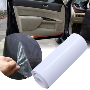 10cm x 3M Rhino Skin Protective Film Car Bumper Hood Paint Protection Sticker Anti Scratch Clear Transparence Film image